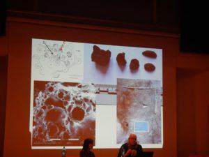 Slide della conferenza di Dott. Marinval sulla produzione di pane e vino nel Nuraghe Arrubiu