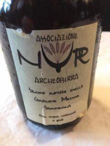 Birra nuragica prodotta dall'associazione NUR