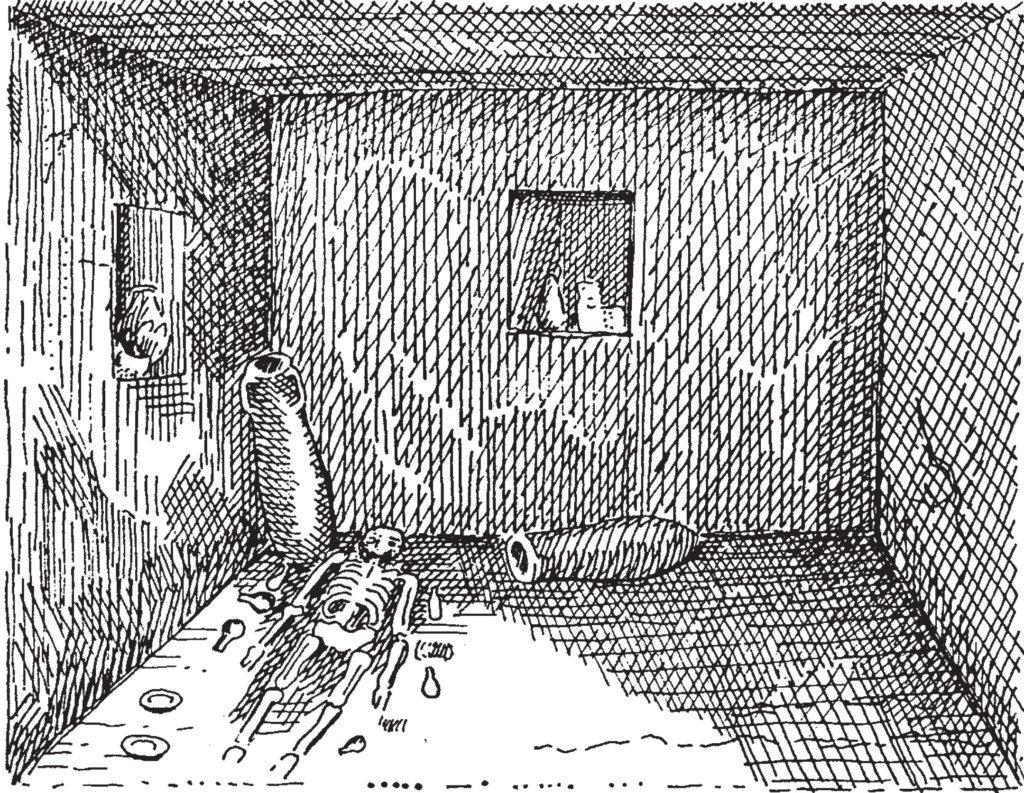 Tomba ipogeica Tharros (Giovanni Spano)