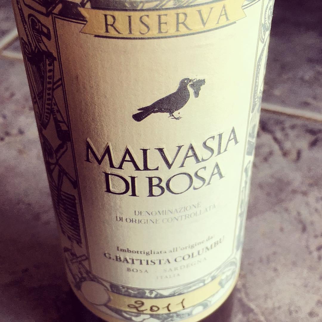 "Malvasia di Bosa DOC ""Riserva"" (2011), Cantina G.Battista Columbu"