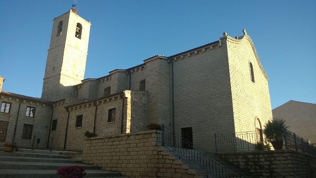 Calangianus, Chiesa di Santa Giusta (Fonte: Di Calangianese nel cuore - Opera propria, CC BY-SA 4.0, https://commons.wikimedia.org/w/index.php?curid=50816276)