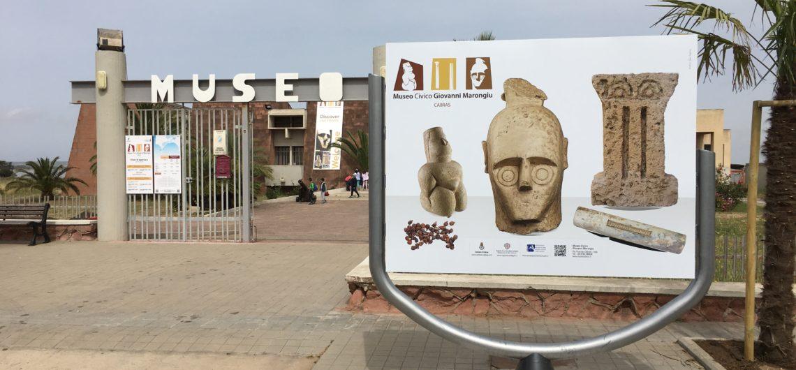 Facciata Museo Civico Giovanni Marongiu di Cabras