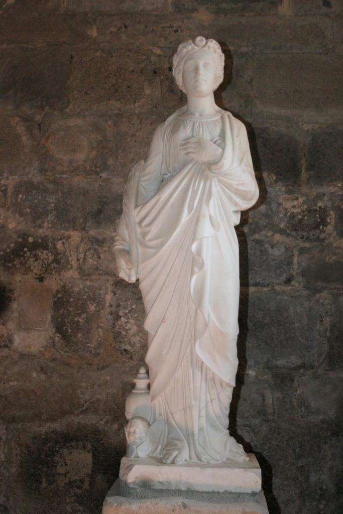 Statua di Santa Giusta