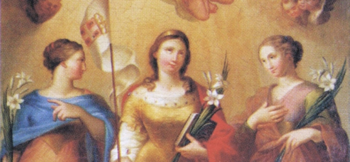 Santa Giusta, Santa Giustina, Santa Enedina