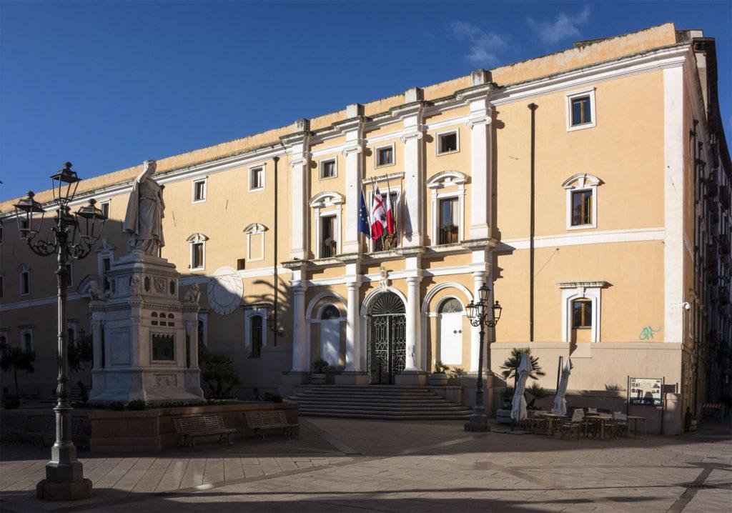 Palazzo degli Scolopi, sede del Comune di Oristano.