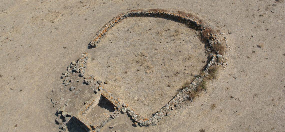Tempio a megaron in località Spadula