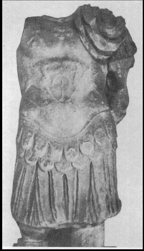 Statua marmorea di imperatore da Cornus