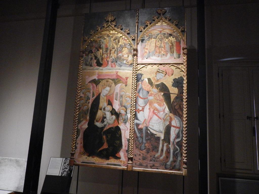 Retablo di San Martino all'Antiquarium Arborense