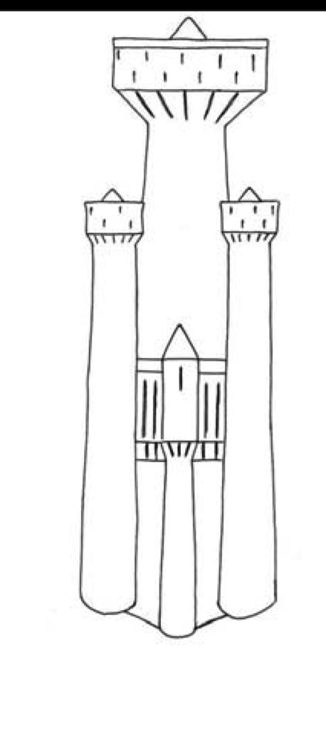 Ricostruzione nuraghe polilobato ritrovato a Mont'e Prama