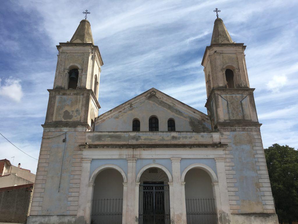 Chiesa della Madonna delle Grazie, Solarussa
