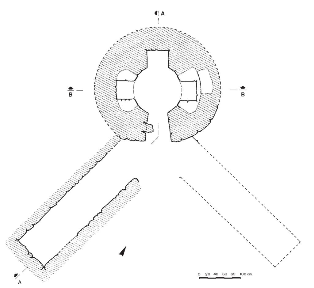 Planimetria pozzo nuragico