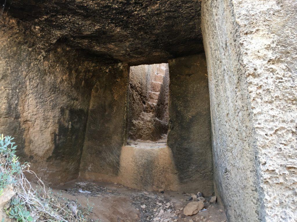 Tomba a camera della necropoli settentrionale