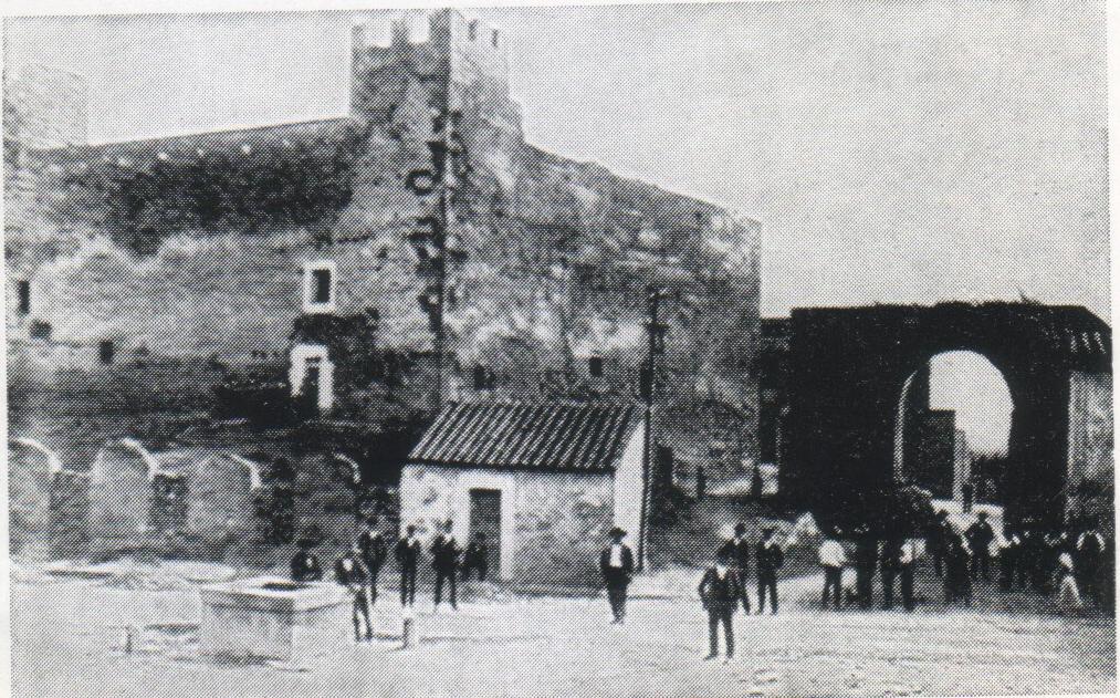 Castello e Potta prima dei restauri