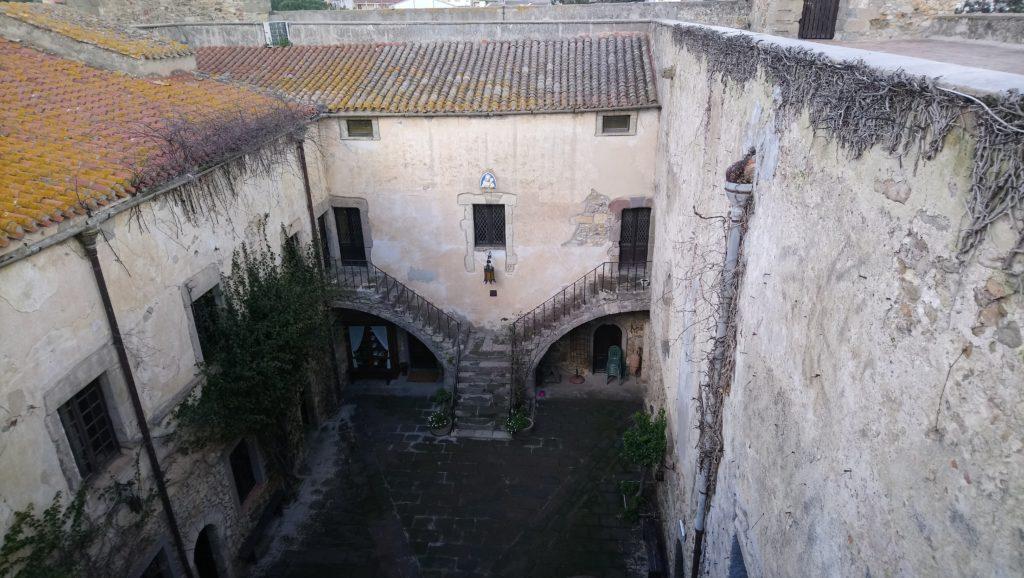 Corte interna del Castello di Sanluri