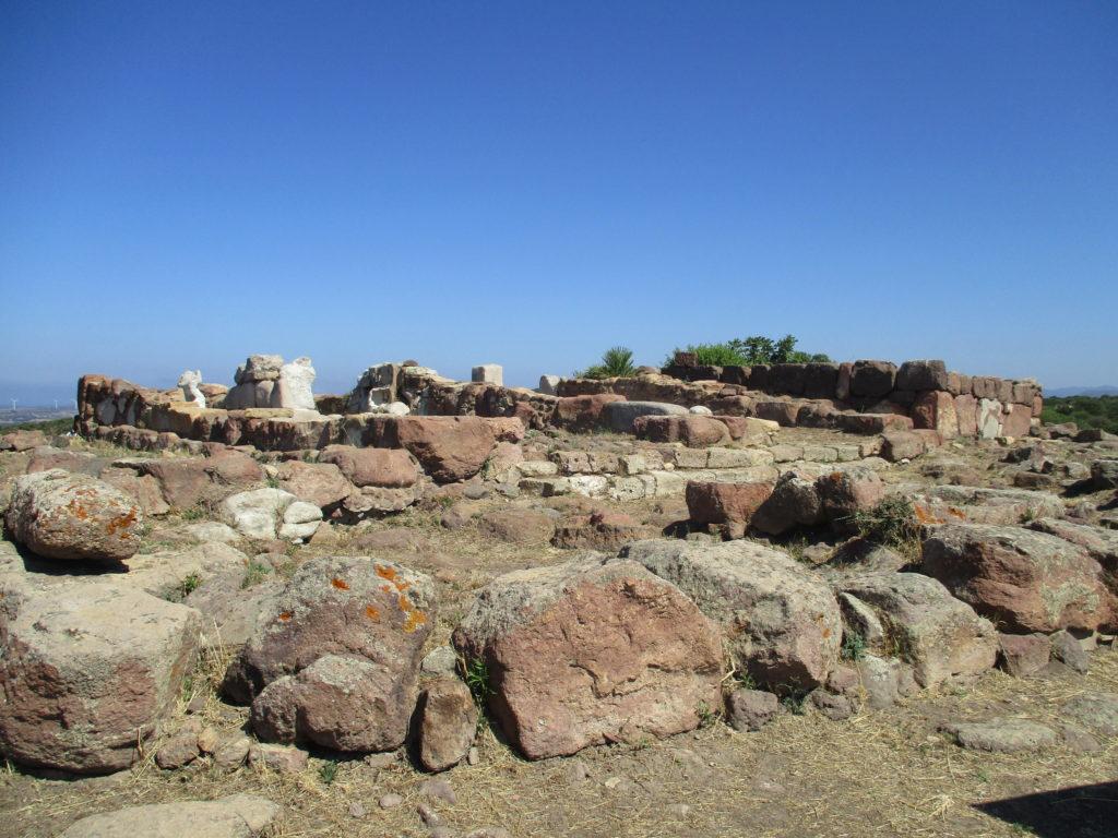 Il tempio di Astarte a Monte Sirai - Foto: Daniela Pippia