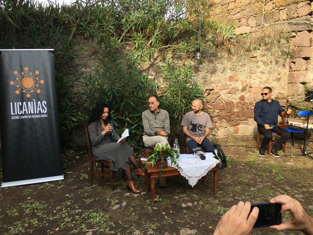 La presentazione del libro al Festival Licanìas di Neoneli