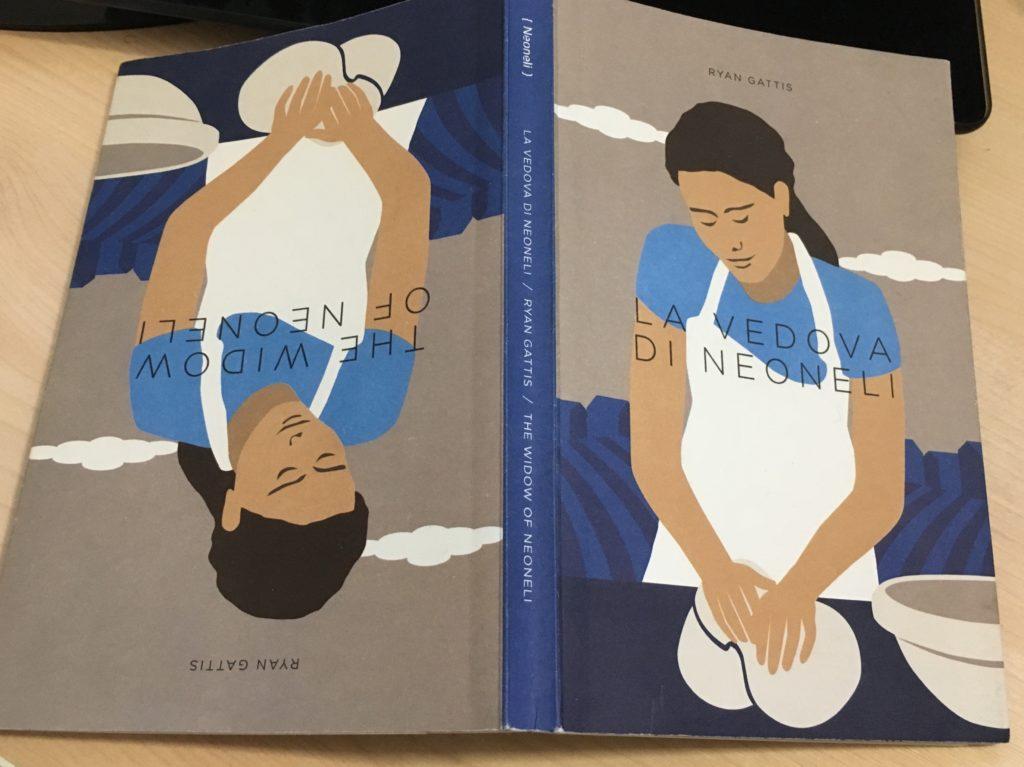 """Copertina del libro """"La vedova di Neoneli"""" di Ryan Gattis"""