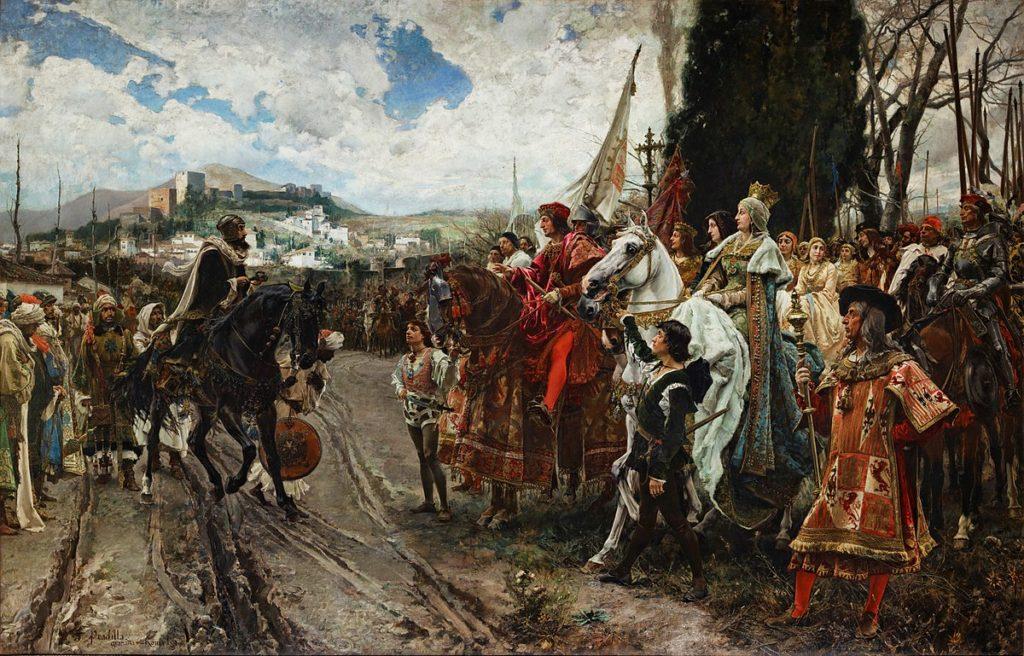La resa di Granada (Francisco Pradilla Ortiz, 1882)