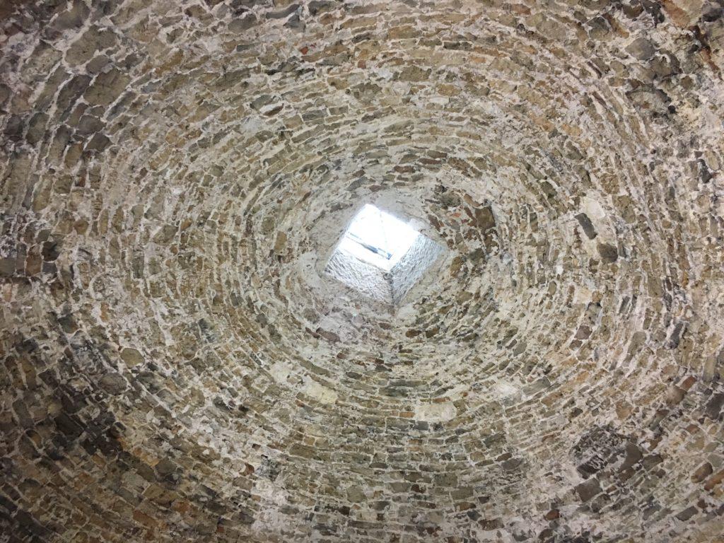 Cupola interna della Gran Torre di Oristano