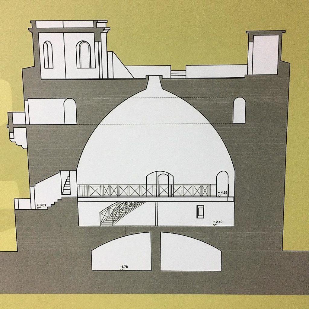 Sezione della Gran Torre (Gabriele Tola, 2003)