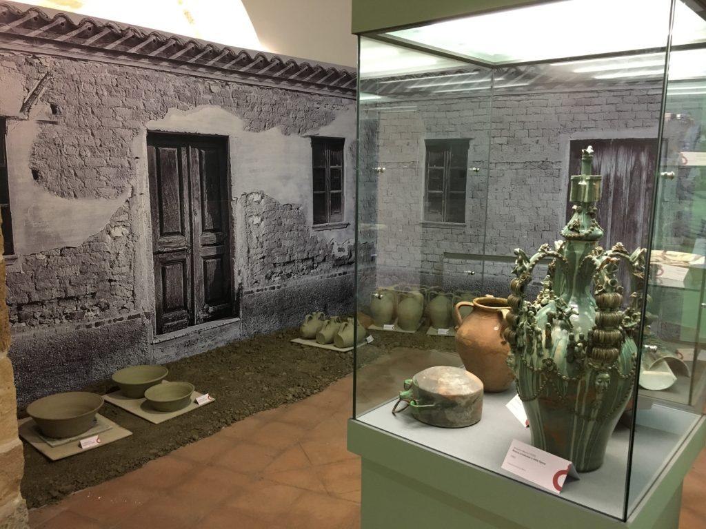 """Particolare del Centro di Documentazione sulla Ceramica di Oristano """"TERRACOTTA"""""""