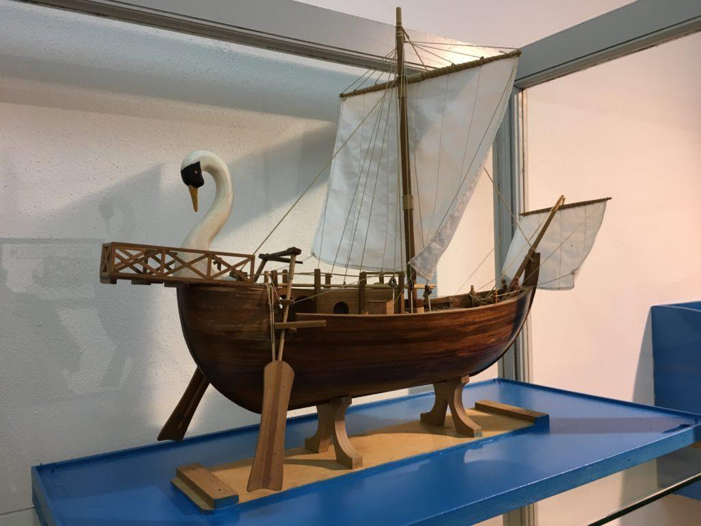 Riproduzione nave oneraria romana