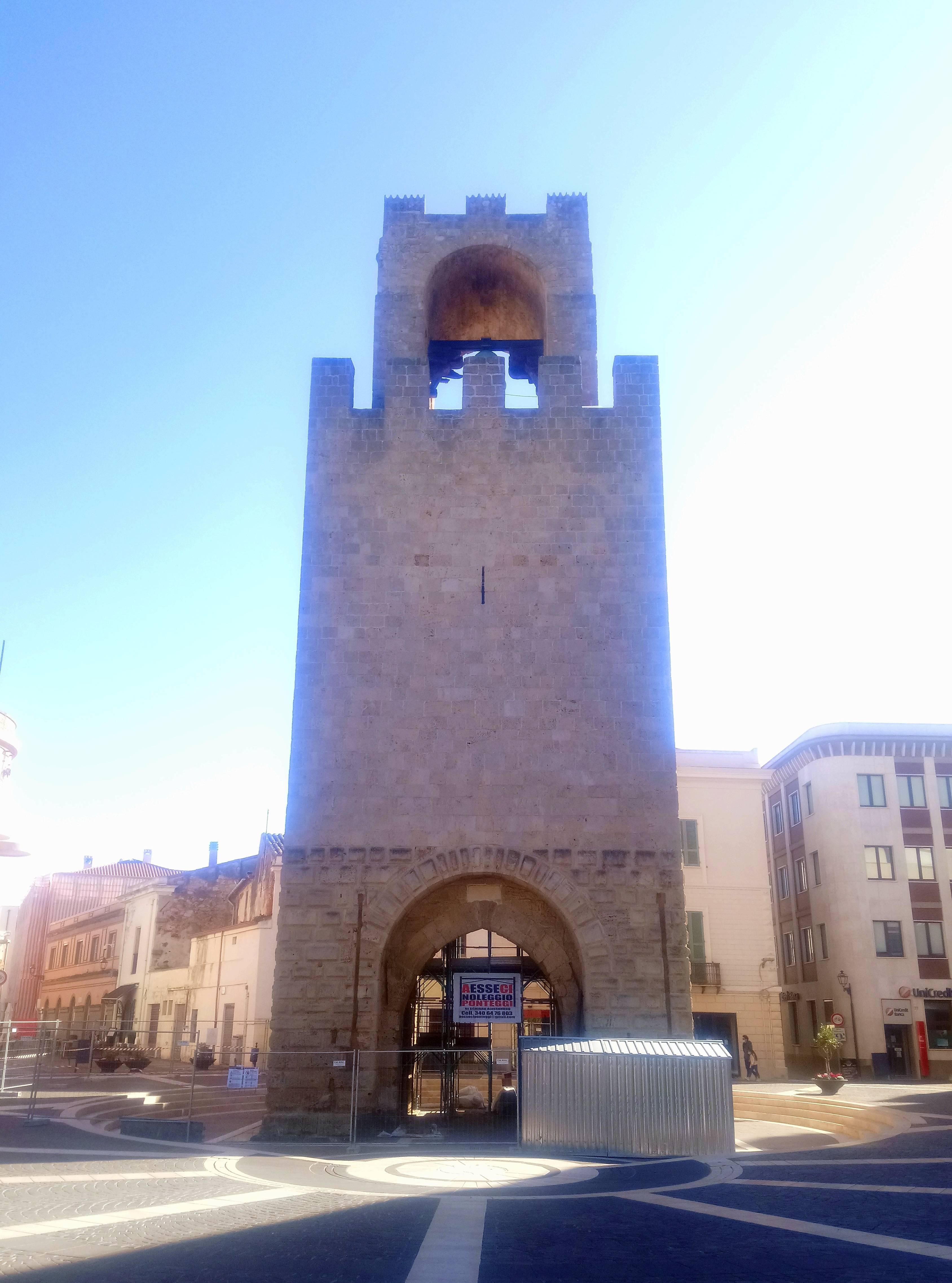 Torre di Mariano II - Restauro 2020 - Fronte