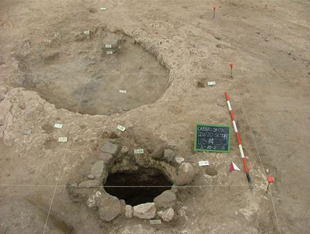 Area di scavo di Sa Osa (fonte: Università di Cagliari)