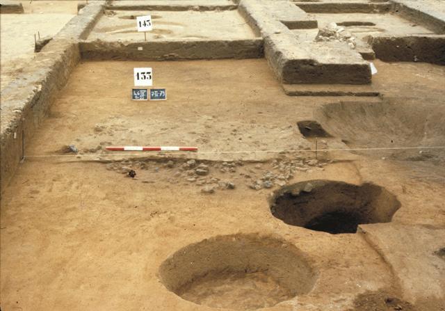 Scavo dell'abitato di Cuccuru is Arrius (fonte Area Marina del Sinis)